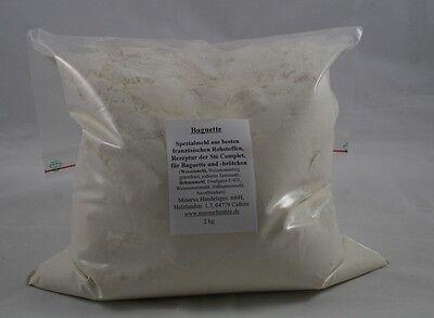 Backmischung für Baguette, 1 kg, auch für Brötchen