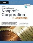 How to Form a Nonprofit Corporation in California by Anthony Mancuso (Paperback / softback, 2015)