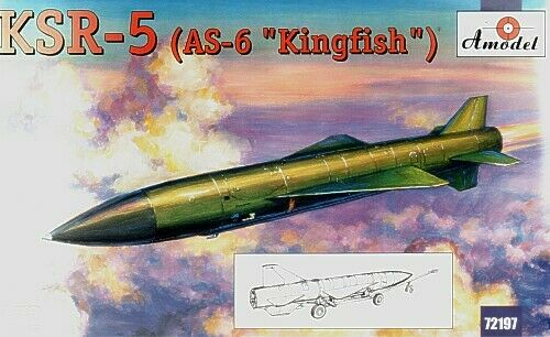"AS-6 /""Kingfish/"" 1:72 Amodel #72197  Ksr-5"