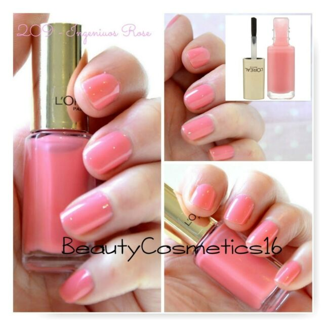 Loreal Color Riche Nail Polish 5ml Vendome Pearl 005 Rouge Pin up ...