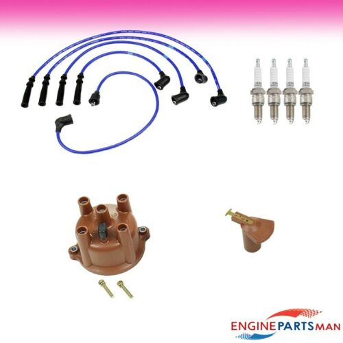 Filter Cap Rotor Plug Wire TK Fit 86-90 Toyota Pickup 2.4L Tune Up Kit