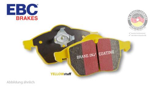 Vorderachse für Audi für Audi //DP41986R EBC Yellowstuff Sport-Bremsbeläge vorne