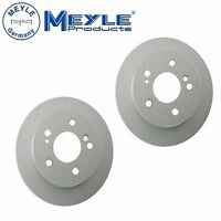 2 Rear Mercedes Benz 190d 190e 260e 300ce 300d 300e E300 Disc Brake Rotor Meyle on sale