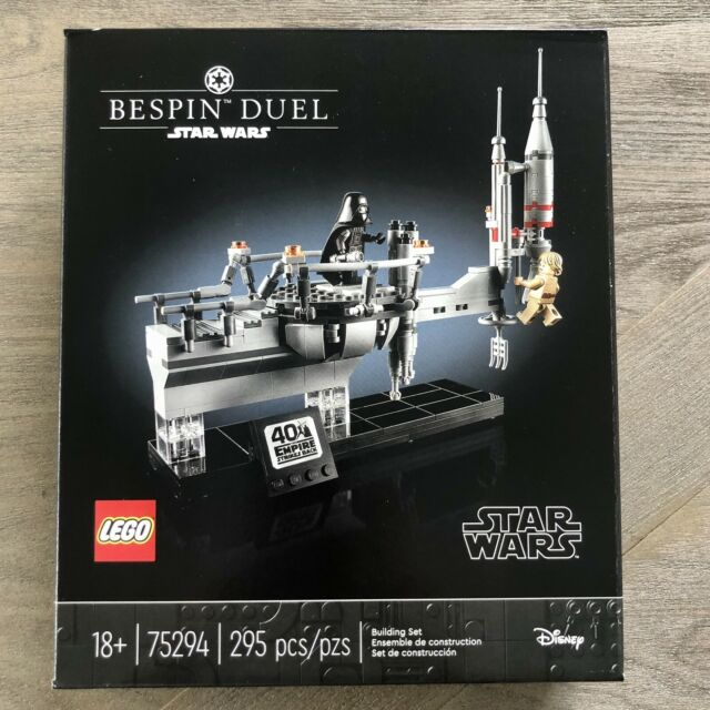 🔥 LEGO 75294 Star Wars Bespin Duel Empire Strikes 40th Celebration Set IN HAND!