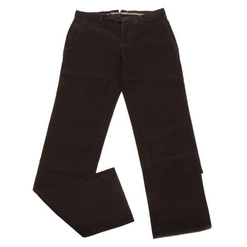Brown Uomo Pant Burberry Jeans Trouser Dark Pantalone Man Cotton London 4201w 6RPXXx