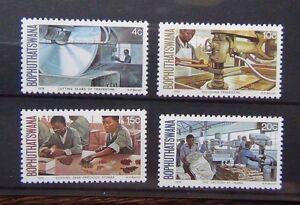 Bophuthatswana-1978-Semi-Precious-Stones-set-MNH
