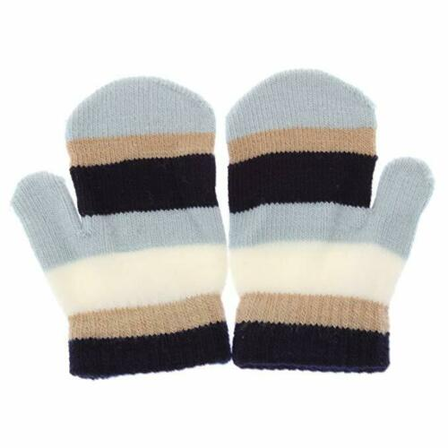 Girls Boys Baby Small Little Hands Magic Stretch Mittens Mitts Assorted Colours
