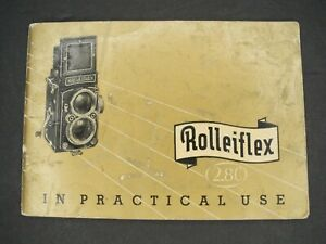 Rollei-Rolleiflex-2-8C-In-Practical-Use-1954-Camera-Instruction-Book-Guide