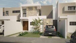 Casa en venta en Merida, Yucatan, Dzitya, Puerta de Piedra Mod. Palenque