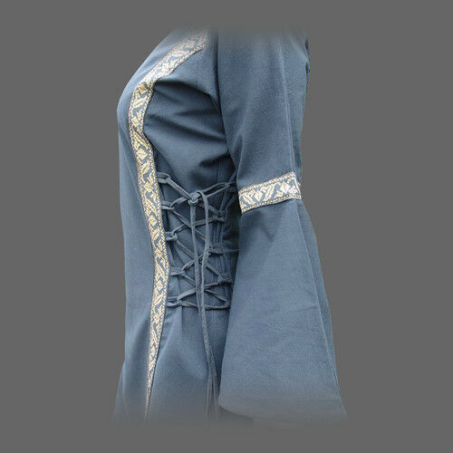 Kleid Mit Gewand Mittelalterkleid Viele xxxl Mittelalter Bordüre Farben S qqdpwrFa