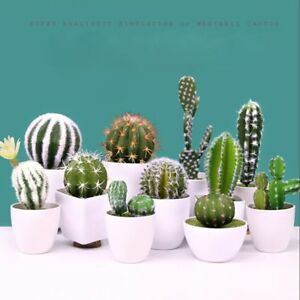 DIY-Plastic-Miniature-Floral-Decor-Fake-Plant-Succulents-Artificial-Cactus