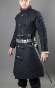 Details about  /Medieval Thick Padded Gambeson suit of armor quilted costumes theater larp