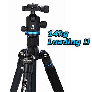 BENRO-iFoto-IF28-Aluminum-Traveler-Tripod-Monopod-Kit-14kg-31-lbs-Max-Load