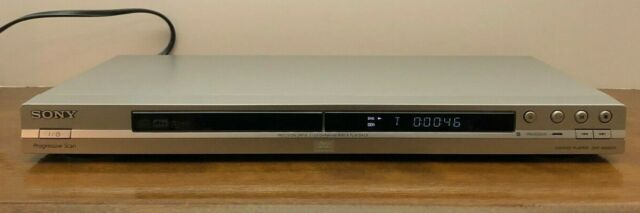 Sony DVD Player DVP-NS501P CD DVD Player No Remote Tested