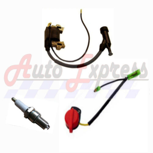 Spark Plug Honda GX160 5.5 HP Ignition Coil On//Off Switch for 5.5 hp Engines