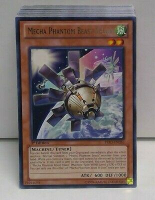 Sun City Games!!! Mecha Phantom Beast O-Lion Rare 1st Ed X 1 LP PRIO-EN026