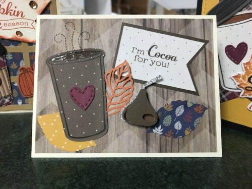 5 Finished Cards Ready To Give CARD SHARKS PACK CLOSE TO MY HEART Supplies