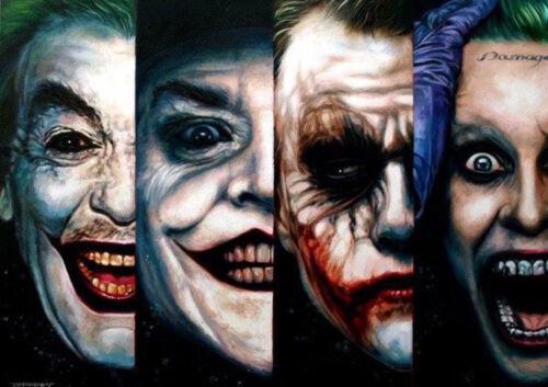 Batman Canvas Joker Art Silk Poster Art Print Poster