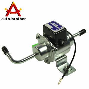New Universal Low Pressure Gas Diesel Electric Fuel Pump 1//4 tubing 3-5 PSI 12V