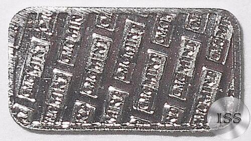 Collectable Fractional Bullion 1 Gram Pure Buffalo Bar Fine .999 Nckel Ingot