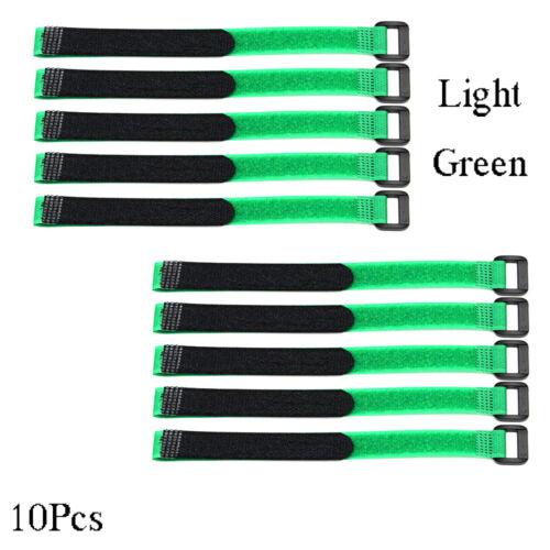 Nützliche 10Pcs RC Anyine Lipo Batterie Gleitschutz Kabel Krawatte Nylon Straps