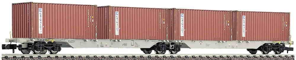 FLEISCHMANN N 825315 Containerwagen Sggmrs AAE GIMALDI Epoche V NEU&OVP  | Sehr gelobt und vom Publikum der Verbraucher geschätzt