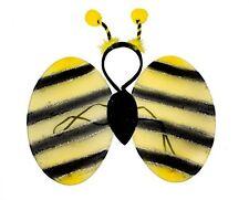 Childs Kids Bumble Bee Fancy Dress Costume Accessory Set P9563