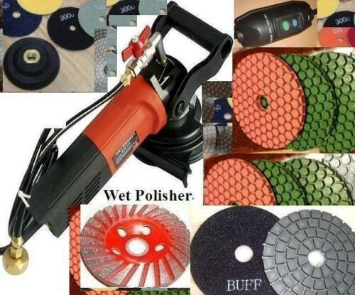 Wet Granite Glass Concrete Sander Diamond Ultra Thick Polishing Pad grinding cup