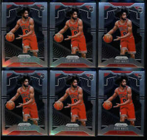 LOT-OF-6-COBY-WHITE-2019-20-PANINI-PRIZM-253-ROOKIE-RC-BASE-FC5896