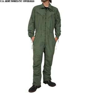 USED CVC SUIT FLIGHT SUIT MENS genuine u.s. military army tankers ... ec2a6ae5ab6