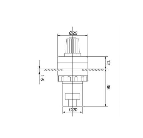 VSD for variable speed drive invert NEW 10k potentiometer 22mm panel mount VFD