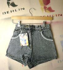Crystal Damen kurze Jeans Shorts blackstone hotpants TRUE VINTAGE blackhot perl