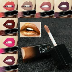 Pudaier-21-Color-Women-039-s-Matte-Lipstick-Liquid-Lip-Gloss-Long-Lasting-Waterproof