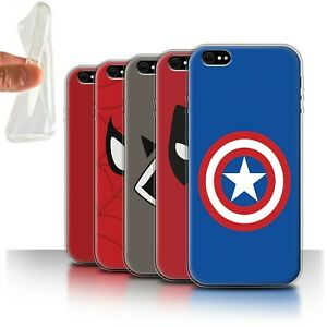 Gel-TPU-Case-for-Apple-iPhone-6S-Super-Hero-Comic-Art