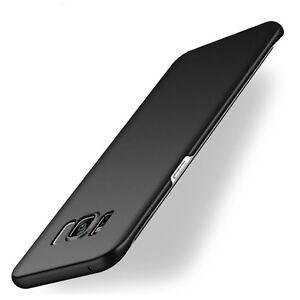 Case-Cover-Coque-pour-Samsung-Galaxy-S8-S8-Plus-Ultra-fin-Noir-Black