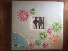 NEW Making Memories 12 x 12 Scrapbook Album GARDEN PARTY Gingham w Flowers