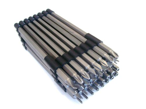 "32pc CAL-HAWK 6/"" Sécurité Inviolable Torx Phillips Pozi Hex Tournevis Triwing Bit Set"
