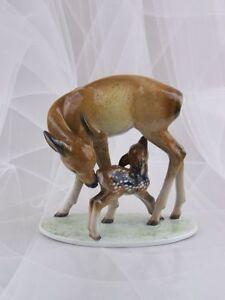 Rosenthal-Figur-Reh-Deer-Rehkitz-Rempel-Figurine-1-Wahl-1937