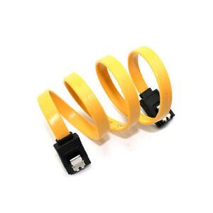 2-X-S-ATA-Kabel-mit-2x-Clip-Stecker-45cm-SATA-Datenkabel-G4Q3