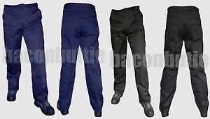 Multi-6-Pocket-Cargo-Combat-Work-Wear-Trousers-Pants-Knee-Pad-Pocket-Black-Navy