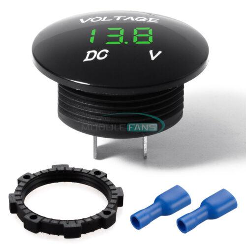 DC 5-48V Waterproof Car Motorcycle LED Panel Digital Volt Voltage Meter Display