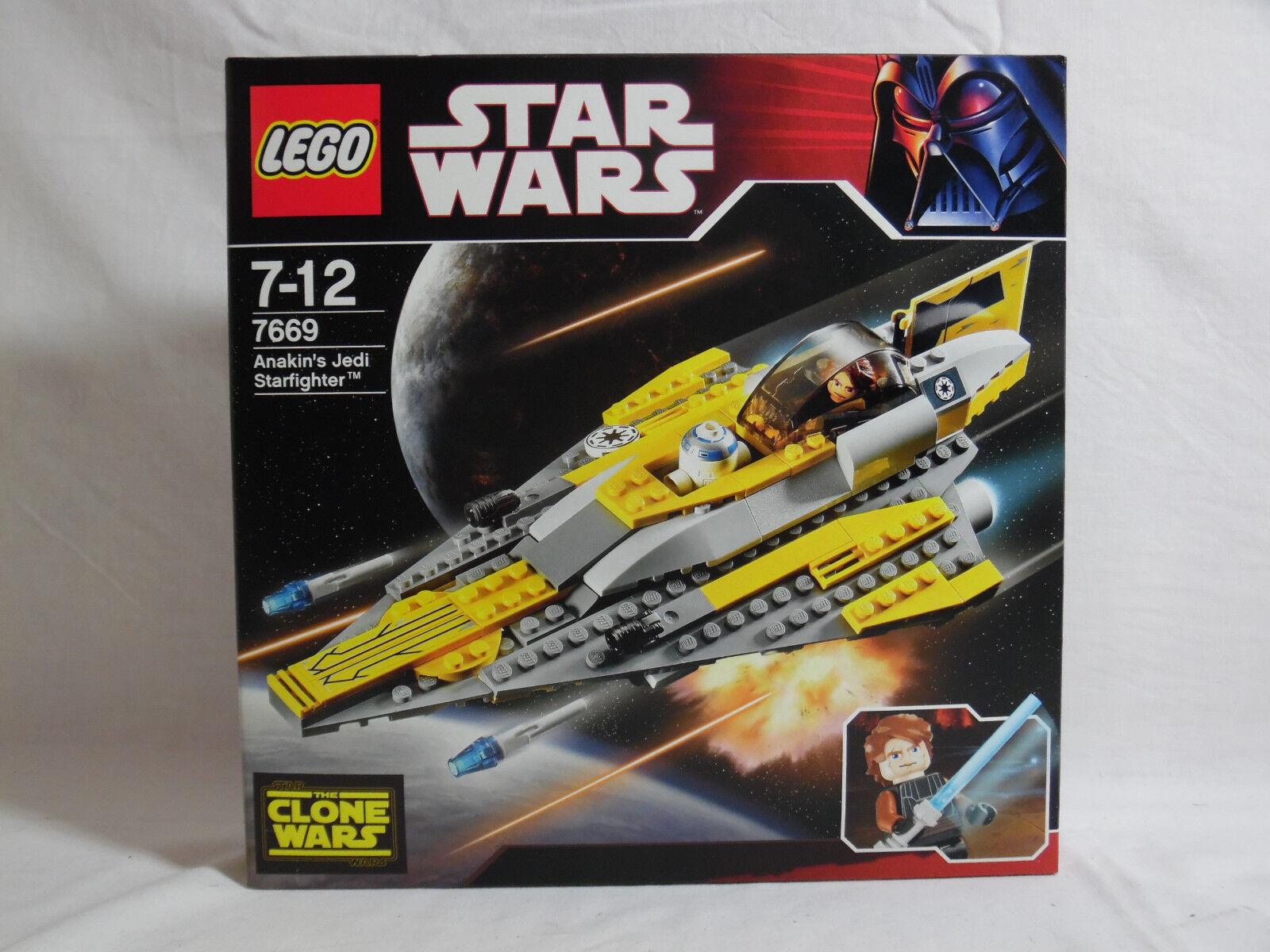 LEGO Star Wars   Anakin´s Jedi Starfighter   Clone Wars   7669   Neu und OVP