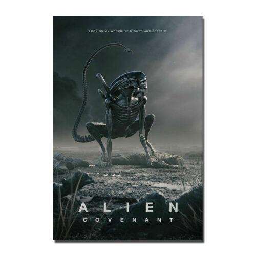 Alien Covenant Hot Movie Silk Cloth Art Poster Decor 19L