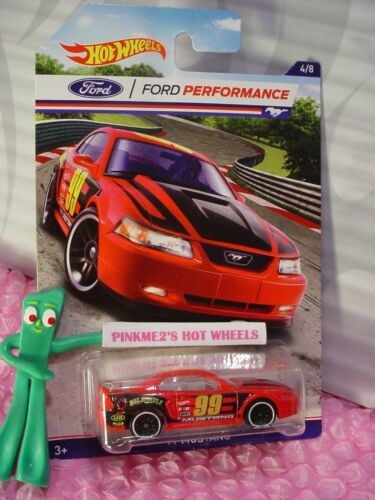 Ford Performance #4 '99 MUSTANG red; white pr5 2016 Hot Wheels Walmart Exclusive