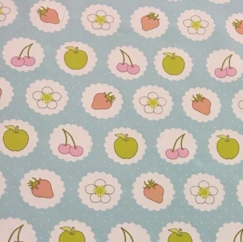 Childrens Fabric Craft Material Colourful Elmer Fabric Floral Ashley Wilde