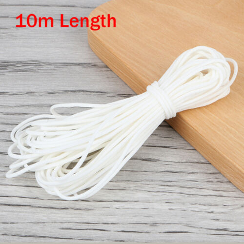 5mm Round Stretch Band Elastic Cord Ropes Material Costume Clothing Crafts Multi