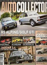 AUTO COLLECTOR 23 TOYOTA 2000 GT R5 ALPINE GOLF GTI 2CV 007 FERRARI 365 GTB/4