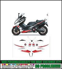 kit adesivi stickers compatibili tmax 2008 2011 full power edition