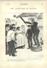 1896 The Rich Man In Hell A Teetotaller Catechism Cartoon Joke