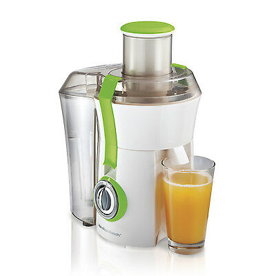 Hamilton Beach Powerful 800W Big Mouth Countertop Juice Extractor, Green 67602A
